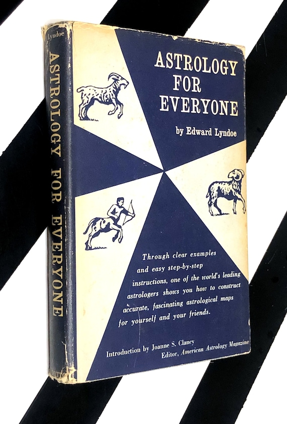 Astrology for Everyone by Edward Lyndoe (1968) hardcover book