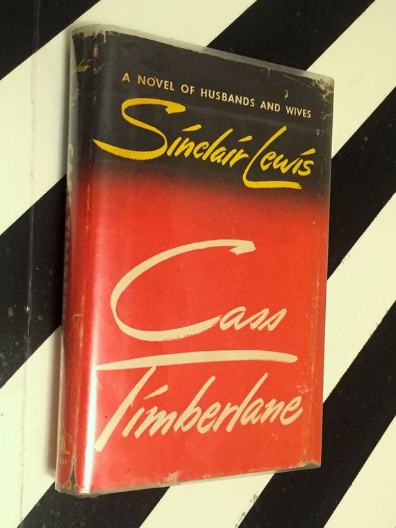 Cass Timberlane by Sinclair Lewis (1945) first edition book