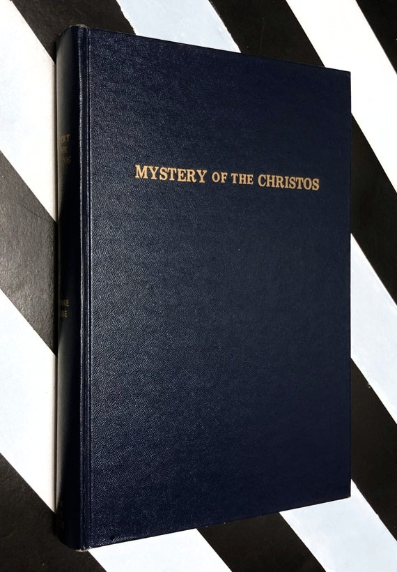 Mystery of the Christos by Corinne Heline (1961) hardcover book