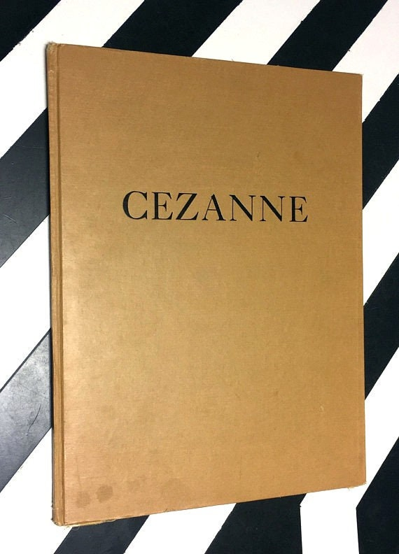 Paul Cezanne by Edward Alden Jewell (1946) hardcover book