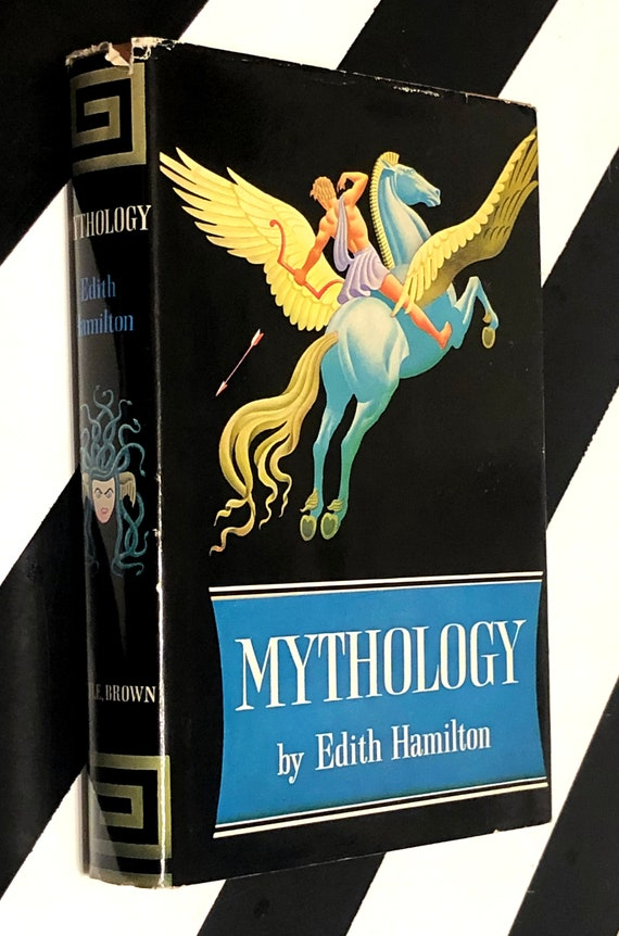 Mythology by Edith Hamilton (1942) hardcover book