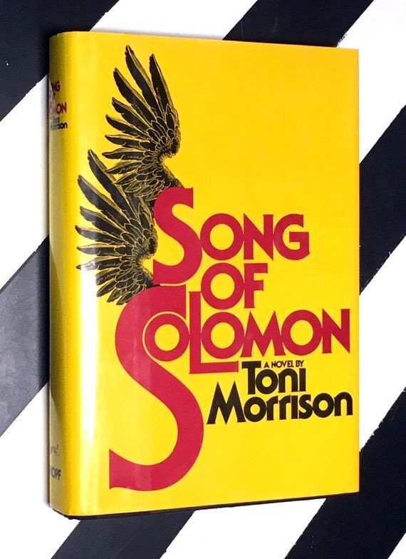 Song of Solomon: A Novel by Toni Morrison (1993) hardcover book