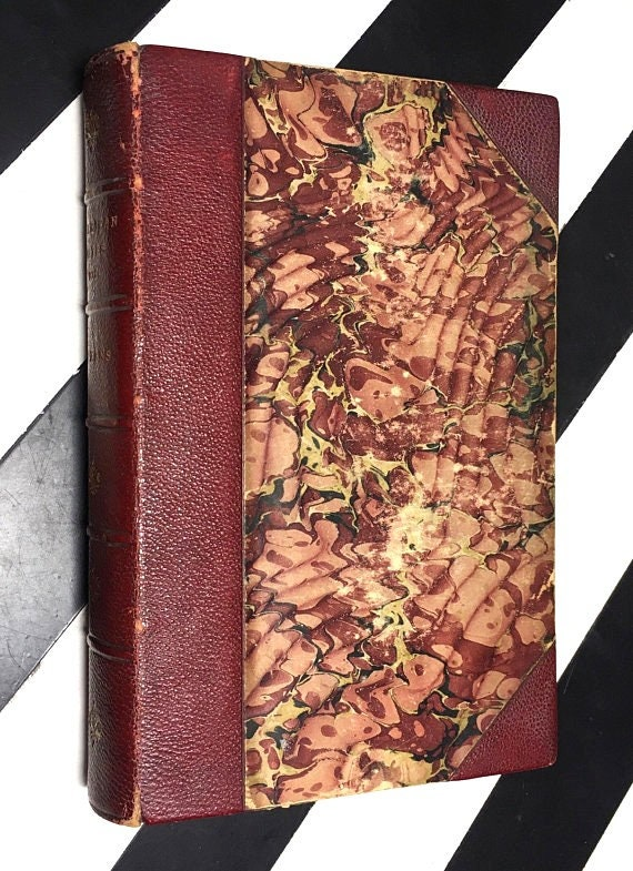 American Notes, Pictures from Italy, and A Child's History of England by Charles Dickens (1895) hardcover book