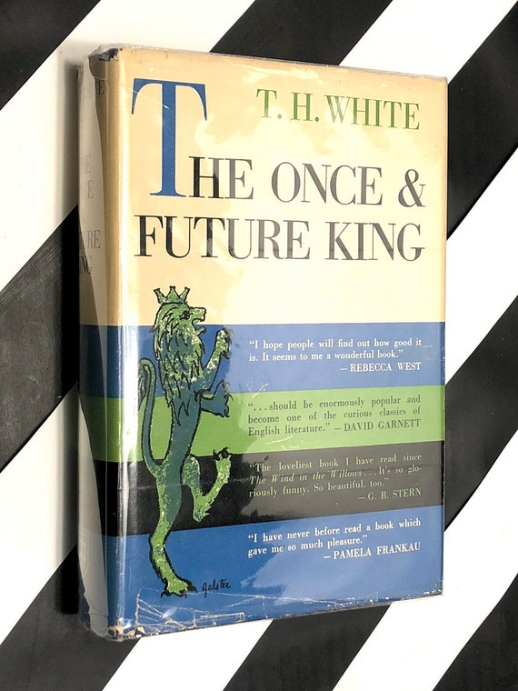 The Once and Future King by T. H. White (1958) first edition book