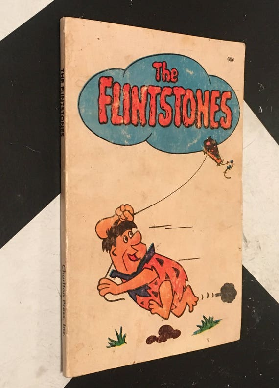 The Flintstones (Softcover, 1972) Hanna-Barbera Productions classic mid-century family cartoon graphic comic strip book