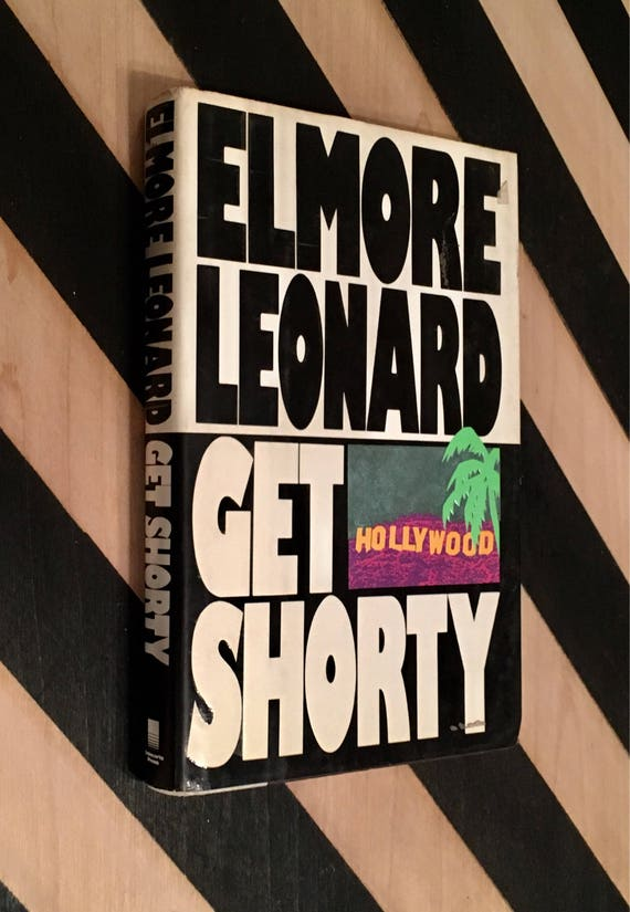 Get Shorty by Elmore Leonard (1990) hardcover book