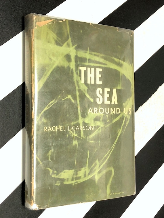 The Sea Around us by Rachel Carson (1951) hardcover book