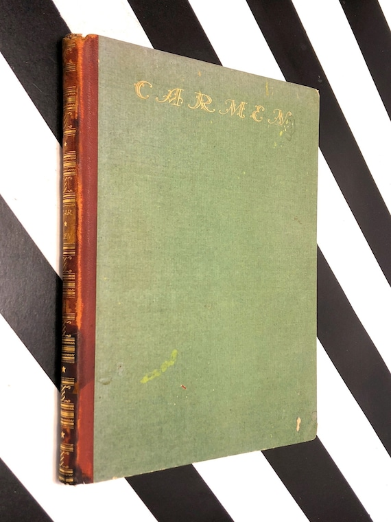 Prospero Merimee's Carmen illustrated by Hugo Steiner-Prag (1920) signed hardcover book