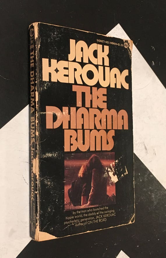 The Dharma Bums by Jack Kerouac vintage beat generation hippie counterculture classic paperback novel (Softcover, 1958)