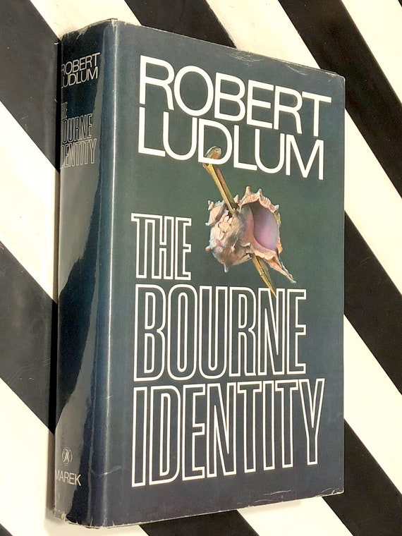 The Bourne Identity by Robert Ludlum (1980) first edition book