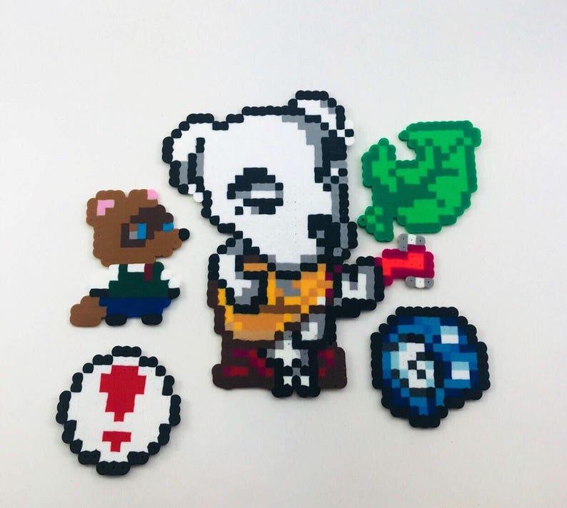 Animal Crossing Pixel Art Bead Sprites