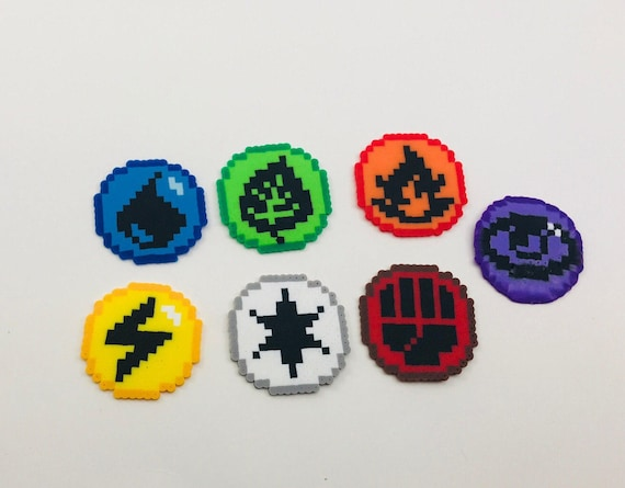 Pokemon Typeenergy Pixel Art Bead Sprites Etsy