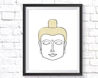 Om Shanti Om Poster Indian Home Decor Printable Art Om Etsy