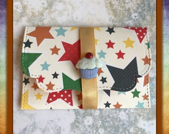 Cupcake   gift card   birthday   DIY coupon   voucher holder   envelope   note card   charity fundraising