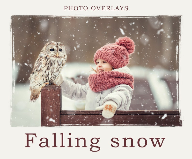 Snow Photoshop Overlay, PNG transparent background, Snow Bokeh Texture,  Falling Realistic snow, Winter, Christmas, Photo editing, Snowflakes