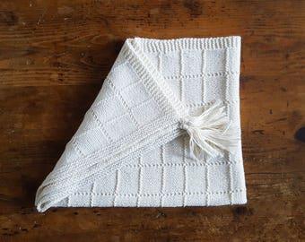 Blanket made of silk