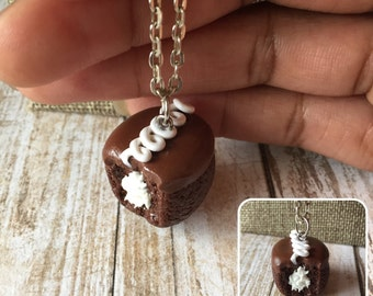Hostess Style Cupcake Necklace