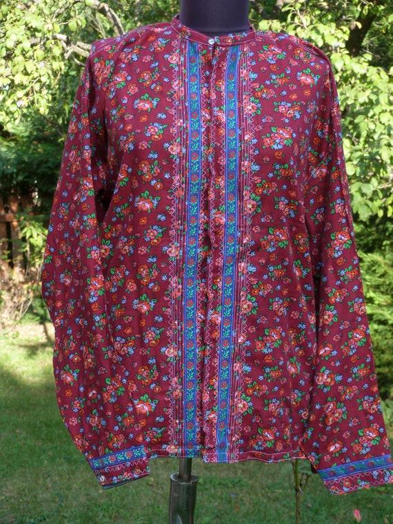 Vintage  folk  dress skirt and blouse , Humgarian… - image 3