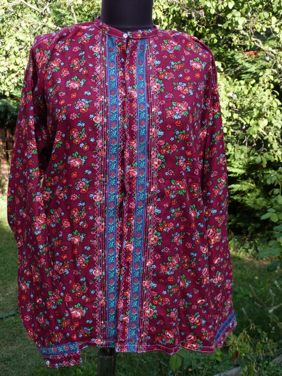 Vintage  folk  dress skirt and blouse , Humgarian… - image 7