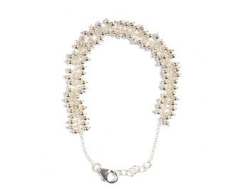 Marielle Elicce Paris silver bracelet