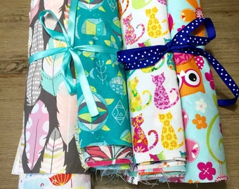 Novelty Scrap Pack , 40 Piece of Cotton Fabric, Weave and Woven