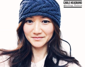 KNITTING PATTERN: Staghorn Cable Headband