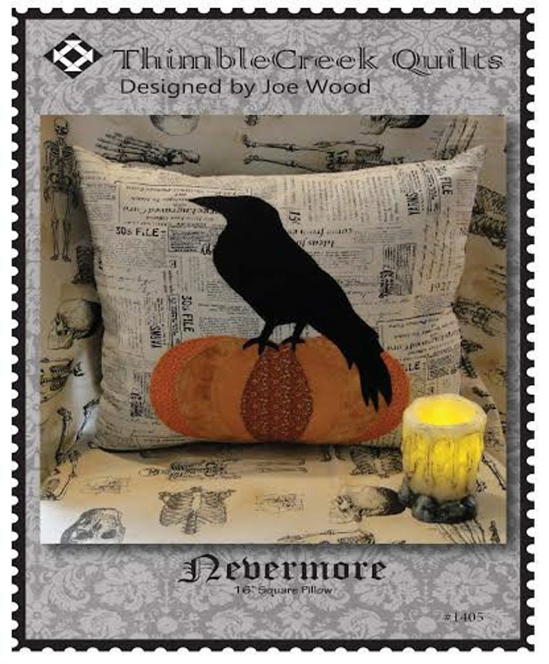 Nevermore  PILLOW Pattern image 0