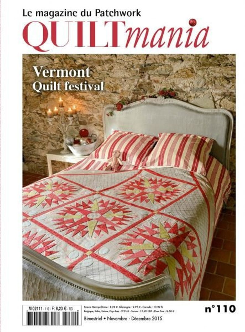 Quiltmania Magazine issue 110 image 0