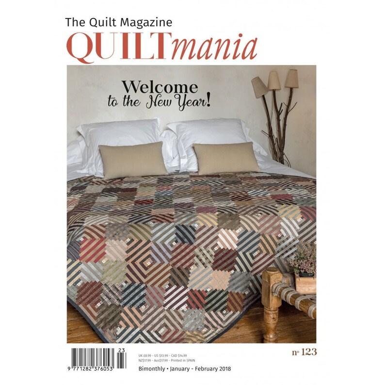 Quiltmania Magazine issue 123 image 0