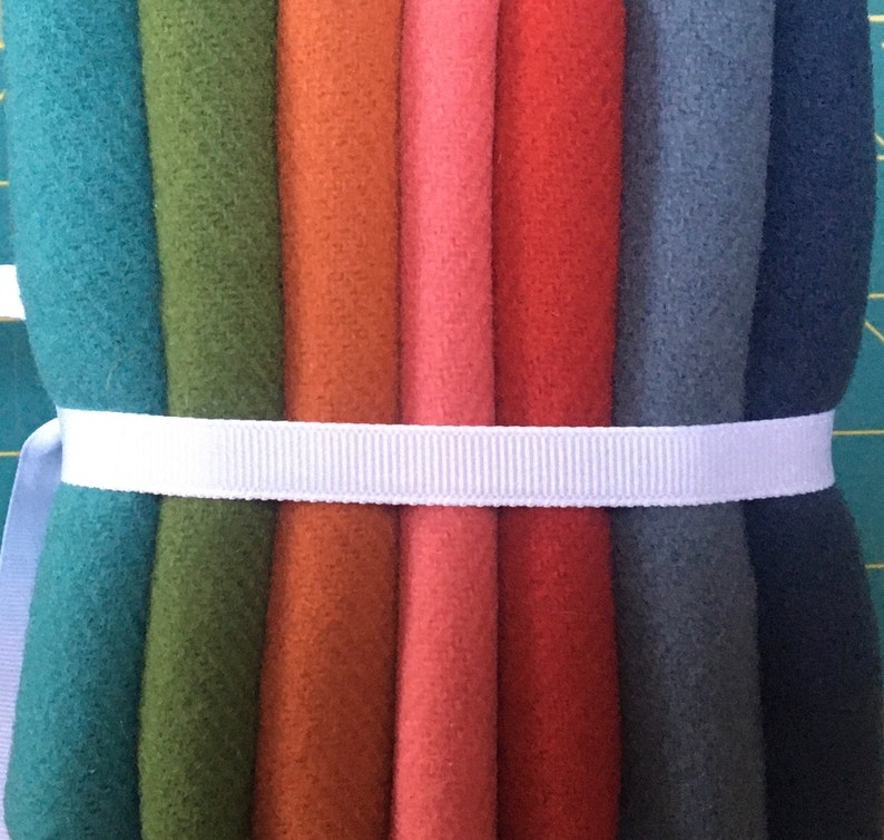 WOOL Fat Quarter Stack BRIGHT image 0