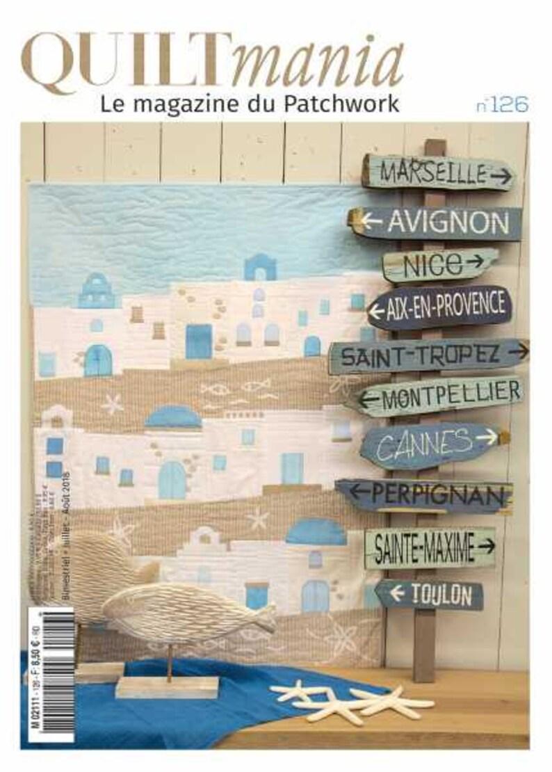 Quiltmania Magazine issue 126 image 0