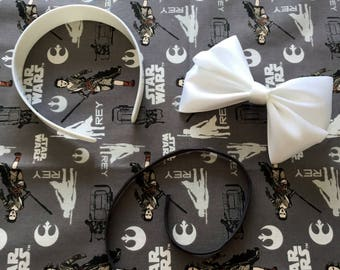 Custom Rey Mickey Ears