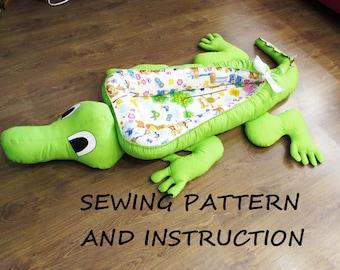 Babynest For Newborn Sewing Pattern And Instruction Baby Nest Pdf Downloadsleep Bedbaby Cocoonco Sleepersleep Nestnewborn Baby Nest
