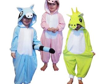 Monkey Fleece Onesie Cute and Cosy OutfitKigurumiCostumeCosplayWarmies for Babies /& Toddlers