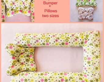 Baby Bumper Baby Nest Newborn Baby Pillow Babynestsleeping Baby Bedsleep Transitionportable Baby Bedbaby Sleepersewing Pattern