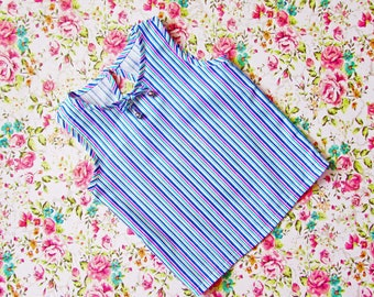 Blouse tunic girls toddler baby, shirt, t-shirt summer, girl's dress, home blouse, children's clothes pdf sewing pattern sizes 1 to 7 years