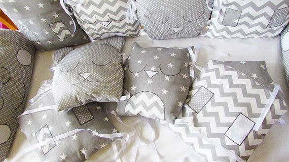 Stoßstange Kinderbett schlafen Babybett Baby Bettwäsche-Set | Etsy