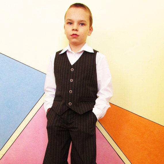 Weste für Jungen Nähen Muster Weste für Jungen und Mädchen | Etsy