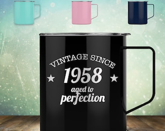 1948 70th Birthday Gifts For Women And Men 14 Oz Coffee