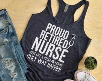 Womens Funny Sayings Nurse Graduation Casual Tank Top Gift for Nurses For Medical Professional Heart Anatomical Women Racerback Tank Top