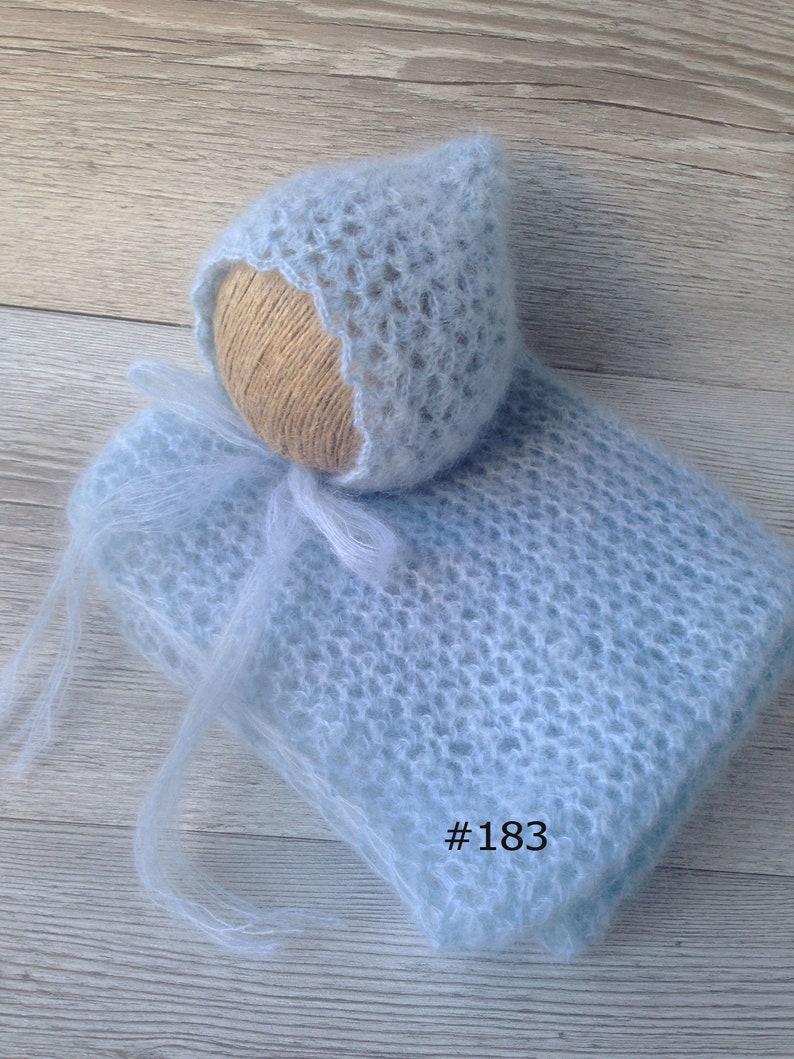 newborn wrap newborn headband mohair wrap mohair bonnet newborn bonnet newborn photo prop mohair newborn prop mohair wrap and bonnet