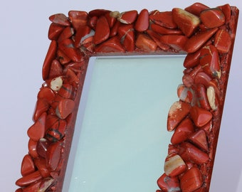Red Jasper Picture Frame