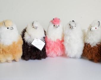Fluffy Furry Llamas | Alpaca Toys | Llama wool plushie | Llama lovers | Unique plushy gift | Decorative llamas
