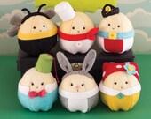 PDF Pattern - 'Egglington Common' - Felt Egg Softie Playset  - Instant Digital Download - Plush Children's Toy - Easter Gift Idea