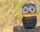 PDF Pattern - 'Hill Top Fox  - Pattern Three' - Felt Owl Softie , Treestump and Playmat  - Instant Digital Download - Plush Toy
