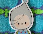 Sticker Die Cut Sticker Laptop Stationary Journal Sketchbook School Books Cute Kids Character Boy by Simone Gooding