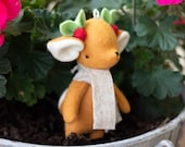 PDF Pattern - 'Dash' - Felt Christmas Reindeer Softie with Scarf - Instant Digital Download - Plush Children's Toy
