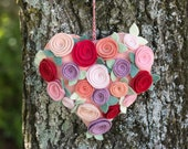 Ready Made Felt Heart Dec...