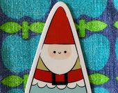 Sticker Die Cut Sticker Laptop Stationary Journal Sketchbook School Books Cute Kids Christmas Santa by Simone Gooding
