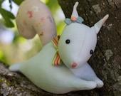 PDF Pattern - 'Twitch' - Linen Squirrel Softie - Instant Digital Download - Plush Children's Toy